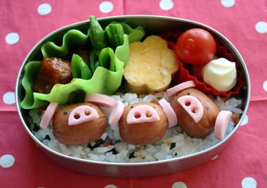 三匹の子豚弁当