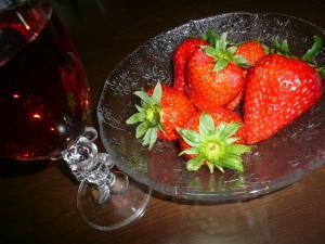 苺&シャンパン
