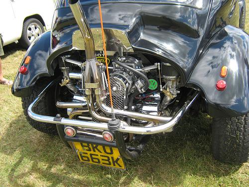 ピカピカのエンジン