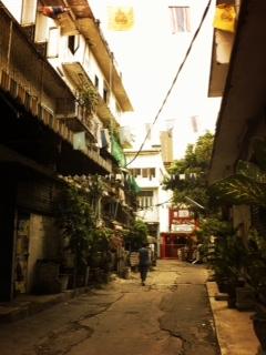 タイ 裏道