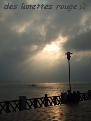 夕陽?:漁人碼頭