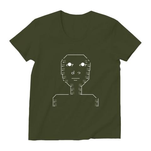 無表情AAのTシャツ