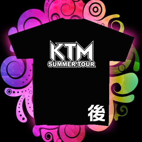 ケツメイシ KTM サマーツアーTシャツ(後)