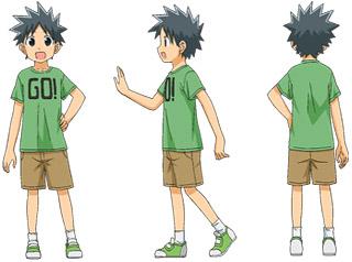 アニメ 侵略!?イカ娘 たけるの「GO!」Tシャツ