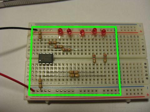 LEDチカチカちゃんVer.1