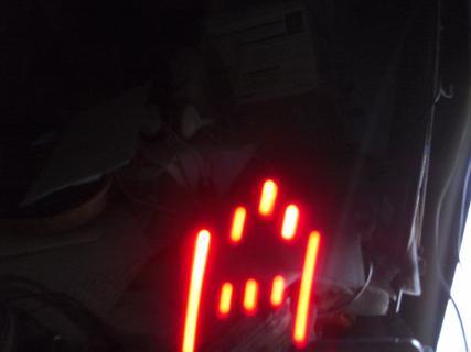 LEDチカチカちゃんVer.2 Aを表示