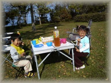 琵琶湖の辺