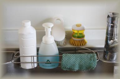 オマケ…流しの洗剤置き場