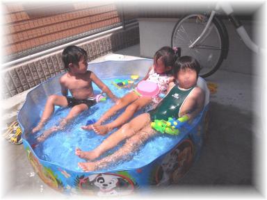 いい水だな♪20100802