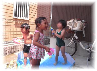 お水かけられた~20100802