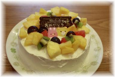 ちゃんぼーりケーキ
