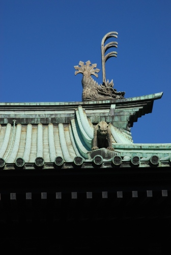 湯島聖堂の屋根②