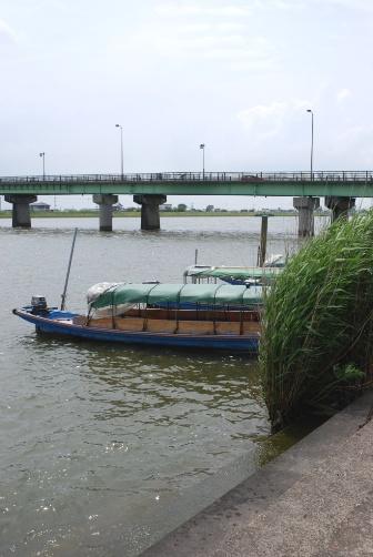 霞ヶ浦の舟