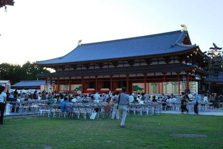 2010薬師寺・講堂舞台