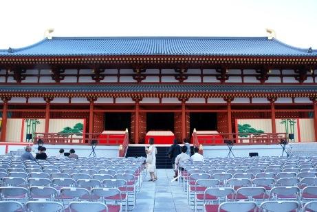 2010薬師寺・講堂正面