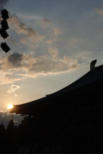 2010薬師寺・講堂の屋根