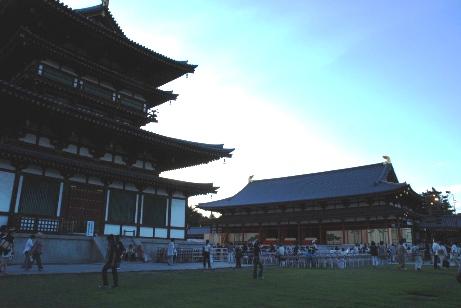 2010薬師寺・金堂と講堂