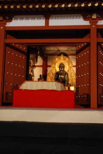 2010薬師寺・講堂ご本尊