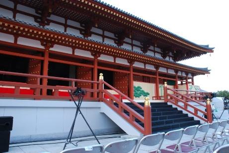 2010薬師寺・奉納舞台②