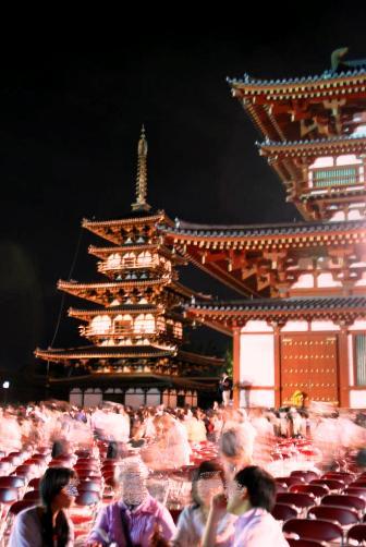 2010薬師寺奉納終演後