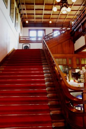 奈良ホテル・大階段