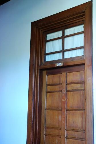 奈良ホテル・客室ドア