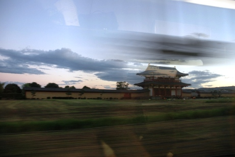 車窓から平安京