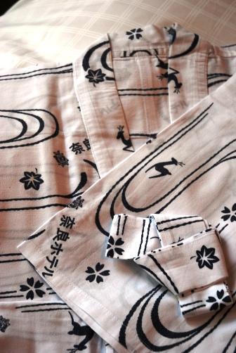 奈良ホテル・浴衣