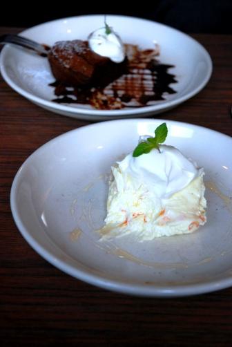 モワカフェ ダブルチーズケーキ