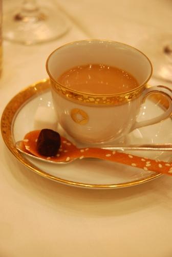 201011デザートコーヒーと小菓子
