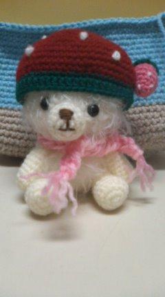 いちご帽子の編みっこ