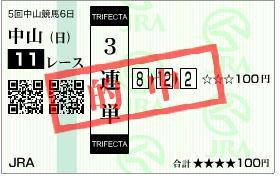 朝日杯3連単