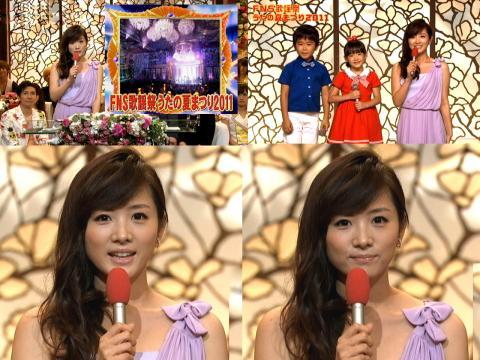 アヤパン FNS歌謡祭2011夏 2011.8.8