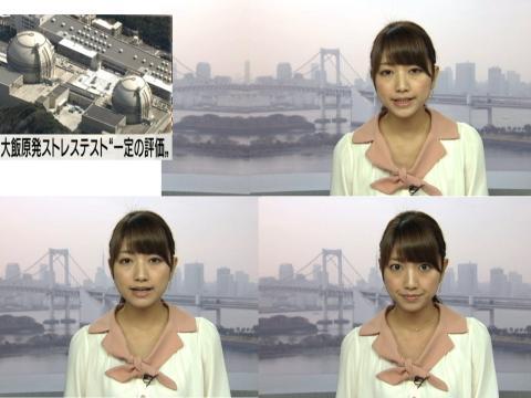 三田 友梨佳 大飯原発ストレステスト・一定の評価