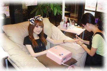 和合麻美さん モデル ネイルサロン 名古屋 ネイルパーク