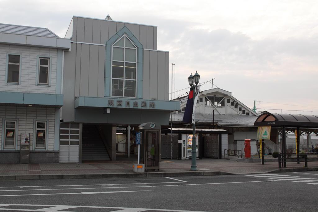 米沢駅とポスト