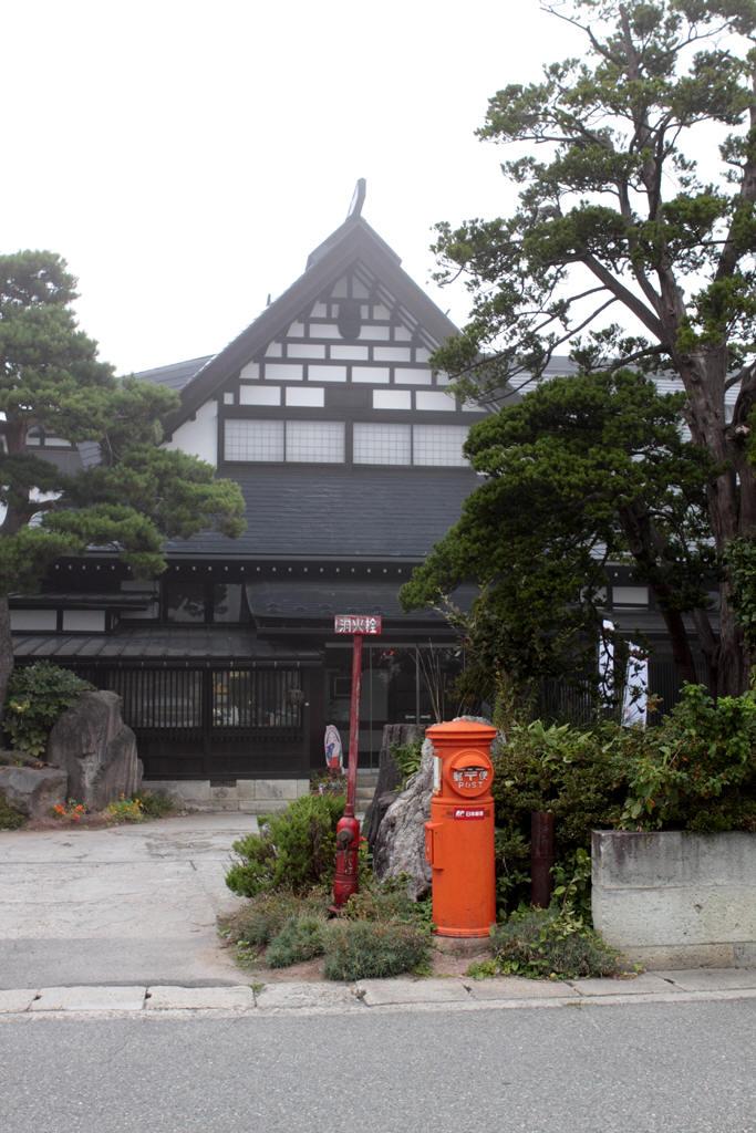 いきかえりの宿瀧波前の丸ポスト 3