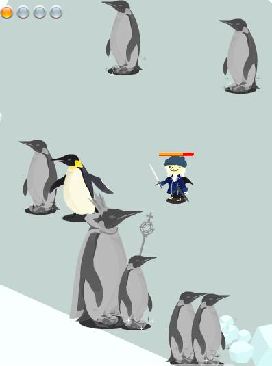 ペンギンの石造