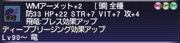 WM頭+2