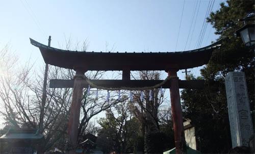 鷲宮神社。