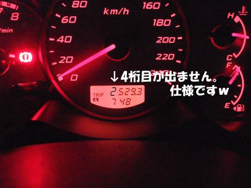 総走行距離:2500km!!!