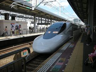 私が乗った新幹線