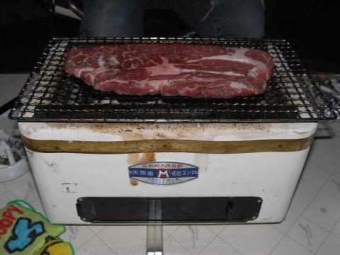七輪 網焼きステーキ オージービーフ!