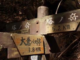 110504塔の岳登山4