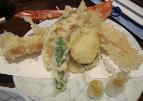 天ぷら、母