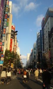 新宿 歩行者天国