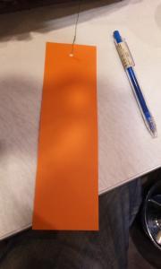 短冊オレンジ