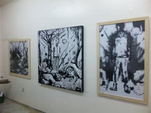 横野さん作品・壁
