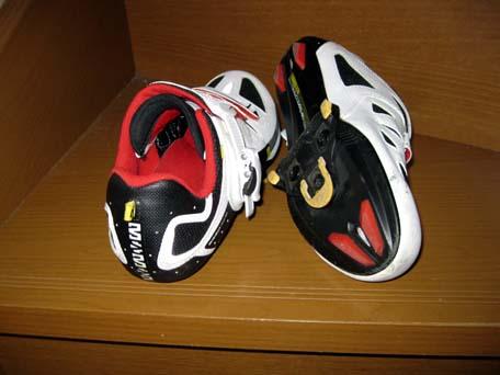 自転車の靴