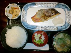 2011.06.22庄屋 焼き魚定食